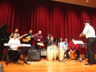 The Afro Cuban Jazz Ensemble of SFSU, 4 de Deciembre