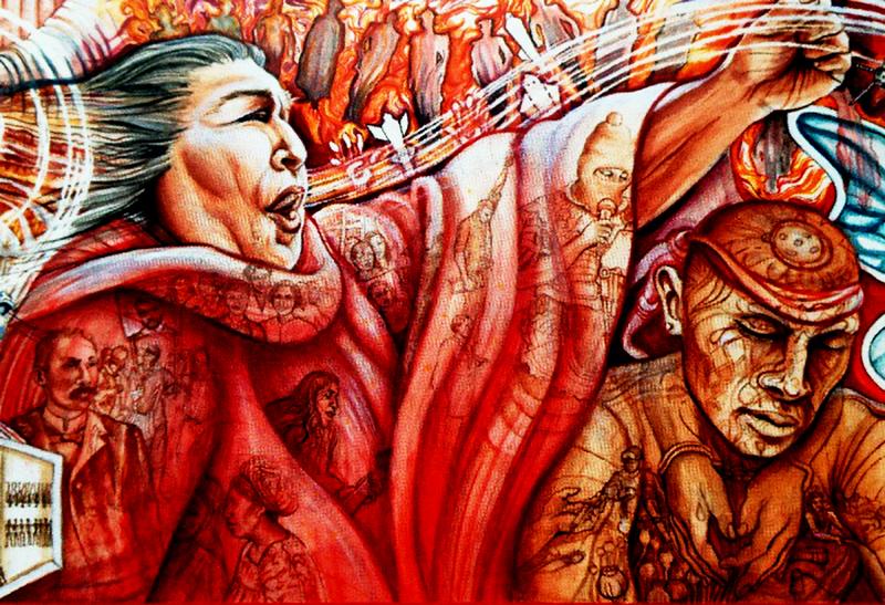 Muralista revela nueva obra el tecolote for El mural pelicula online