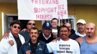 Casa de apoyo a veteranos deportados en Rosarito, México. The Deported Veterans Support House in Rosarito, Mexico. Photo Joel Aguilar