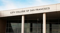City College of San Francisco, campus Ocean. City College of San Francisco's Ocean campus. Photo Santiago Mejia
