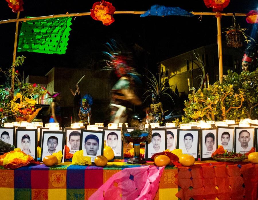 "3rd Place: Raul Barrera ""Todos Somos Ayotzinapa"""