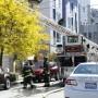 Un incendio envolvió un edificio de dos pisos, con dos unidades residenciales en las calles Bartlett y 26 el 8 de abril; es el cuarto incendio en la Misión desde septiembre. Foto Amos Gregory
