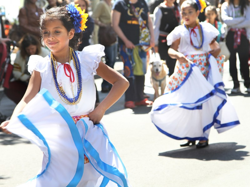 The Cesar Chavez Parade and Festival, celebrated on Saturday April 18, included music, dancing, arts, merchants and a car show. It spanned 24th Street from Treat to Bryant. Photos Estivaly Moreno