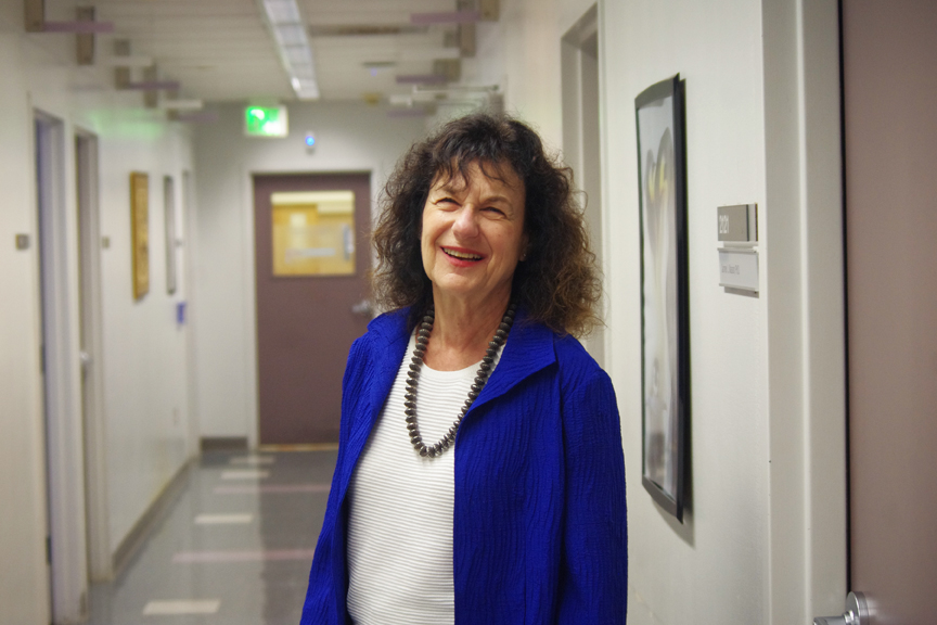 Psychotherapist Dr. Alicia Lieberman is a professor and vice-chair for Academic Affairs with the UCSF Department of Psychiatry, and director of the UCSF Child Trauma Research Program, located at San Francisco General Hospital. Photo S. Thollot