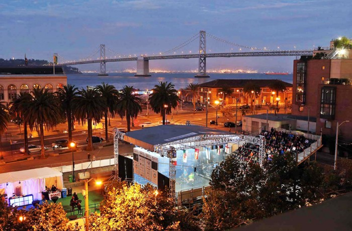 Justin Herman Plaza played host to San Francisco's fourth annual NetSuite Open Squash Championships on Sept. 25-29. Attracting some of the best international squash athletes, 2015 marked the first year that a women's bracket was included.