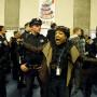 Sharen Hewitt exige justicia para Mario Woods durante la sesión de comentarios públicos de la reunión de la Comisión de la Policía de San Francisco. Foto Emma Marie Chiang