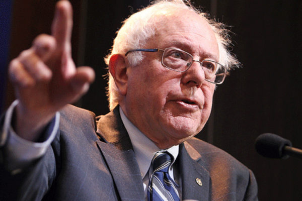 Bernie Sanders. Photo: Brookings Institution/ Flickr