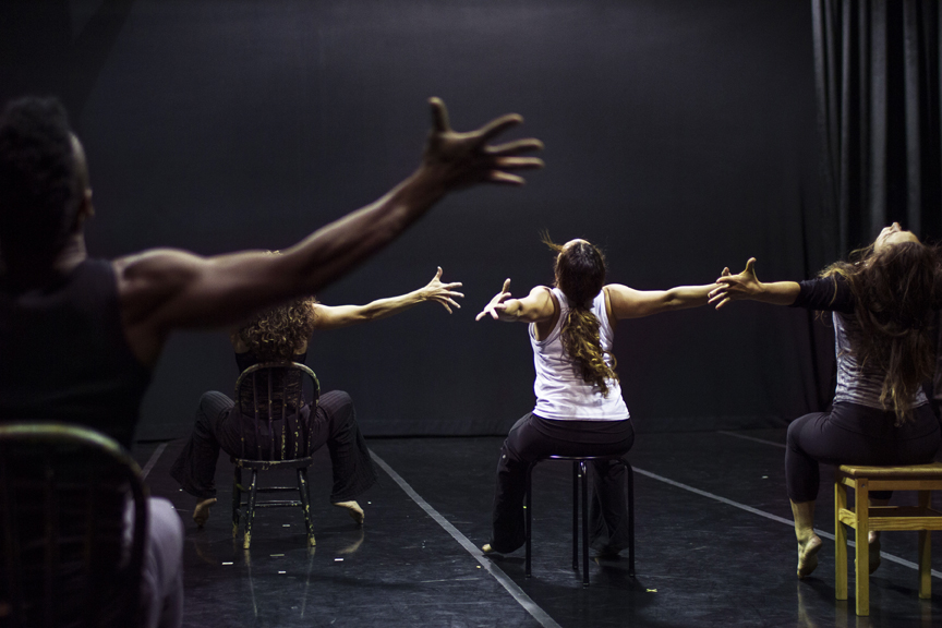 Dancers rehearse at The Dance Mission Theater for the upcoming 12th Annual CubaCaribe Festival. The theater is currently facing a rent increase that puts the organization's future at risk. Photo Patricio Guillamón