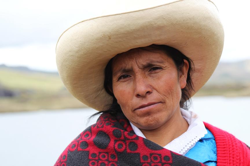Peruvian Activist Battles Mining Industry To Save Her