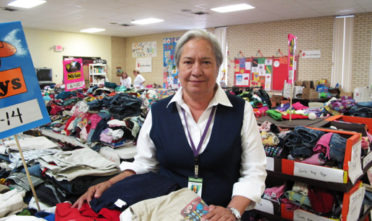 Sister Norma Pimentel is the executive director of Catholic Charities of the Rio Grande Valley refugee center, which gives food, clothing and legal help to thousands of families fleeing violence in Central America. Photo William Marsden/Postmedia News