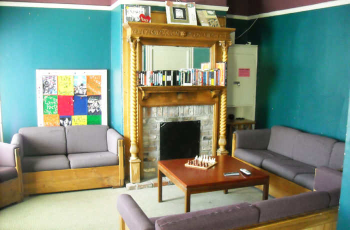 The common living area at Huckleberry House. Photo courtesy of Huckleberry House