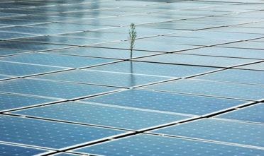 Solar panels in San Francisco. Photo Mabel Jiménez