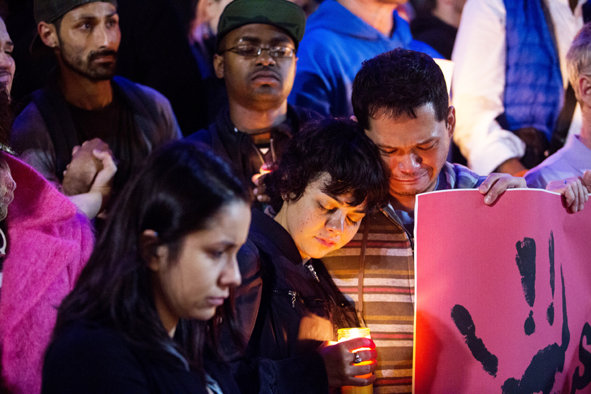 Vigil for victims of Orlando nightclub shooting