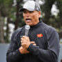 1998 Pro Football Hall of Fame inductee, Anthony Muñoz, along with the NFL and Oakland Raiders, host NFL Play 60 Character Camp in Alameda. Photo Alejandro Galicia Diaz