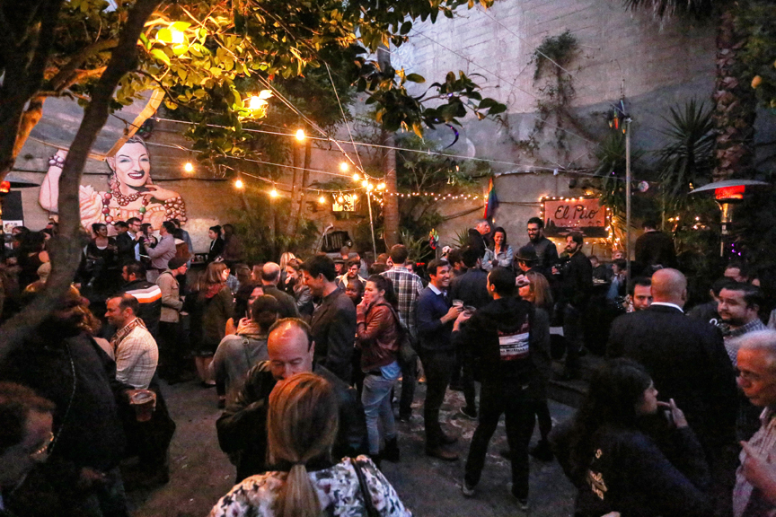 The mission community gathered at El Rio on Thursday night to raise funds for those that were displaced due to the fire that occured on Mission Street on June 18, 2016. San Francisco, California Thursday, June 1, 2016