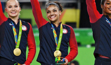 Laurie+Hernandez+Gold+Rio