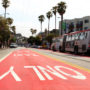 After adding red transit-only lanes and implementing other changes to Mission Street, the SFMTA has relaxed some of those enforcements after receiving complaints from local residents and businesses. Photo Jessica Webb