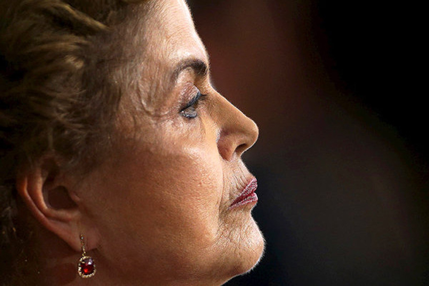 Former Brazilian president Dilma Rousseff. Photo: Reuters