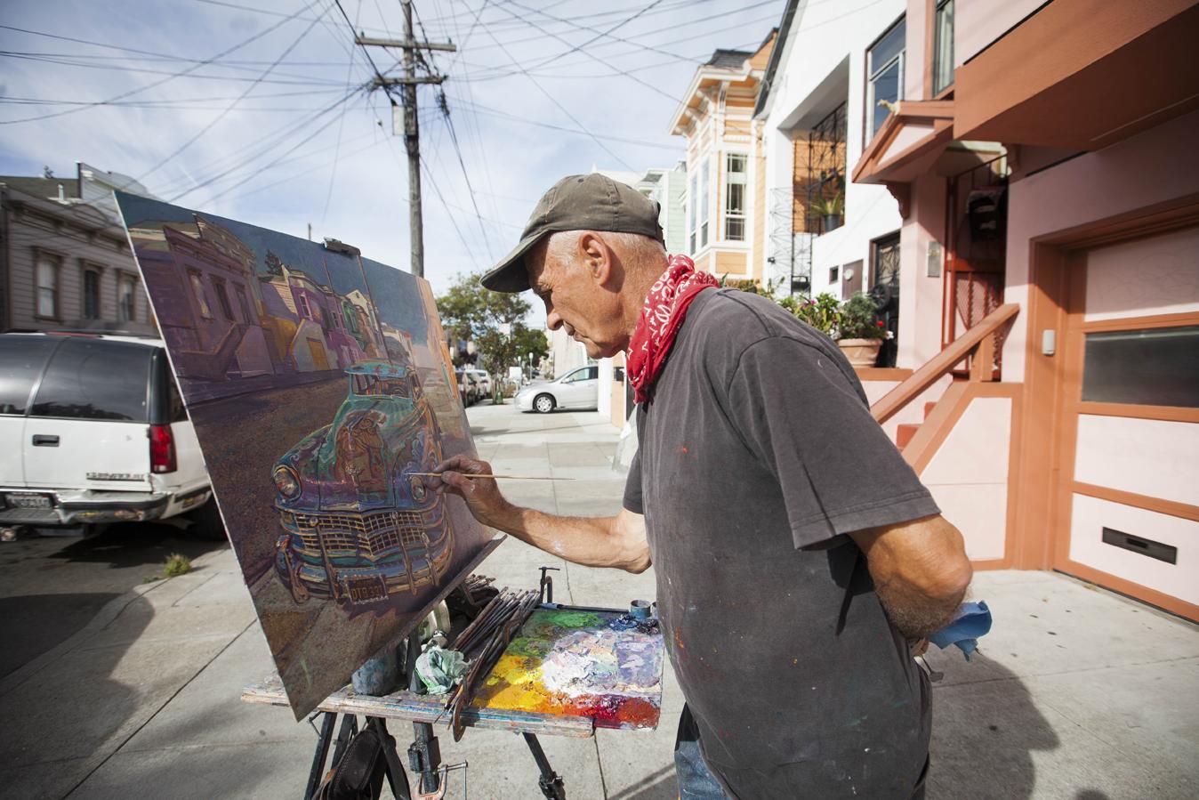 Armario Keter Jardin ~ Anthony Holdsworth el pintor de las calles de la Misión