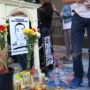 Memorial  for Luis Demetrio Góngora Pat's death, San Francsico, CA, Friday, October 7, 2016 (Jessica Webb)