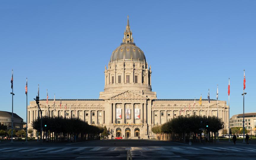 San Francisco City Hall. Photo: Wikimedia user King of Hearts
