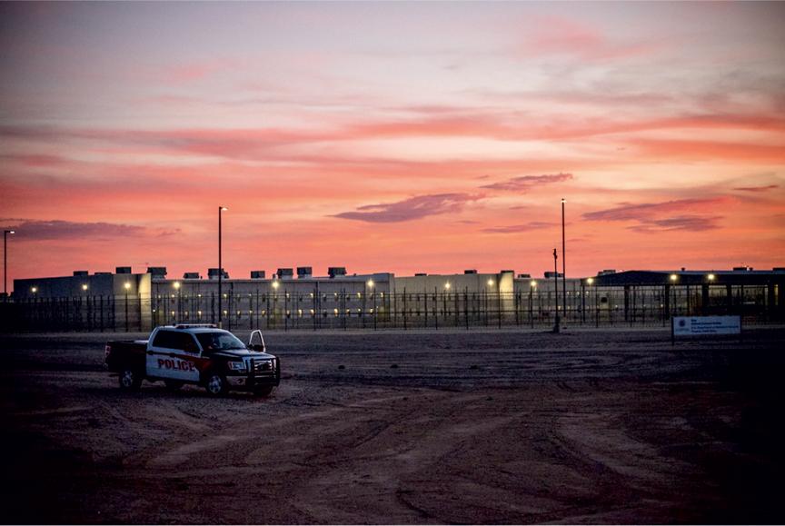 A detention center in Arizona. Photo: Steve Pavey