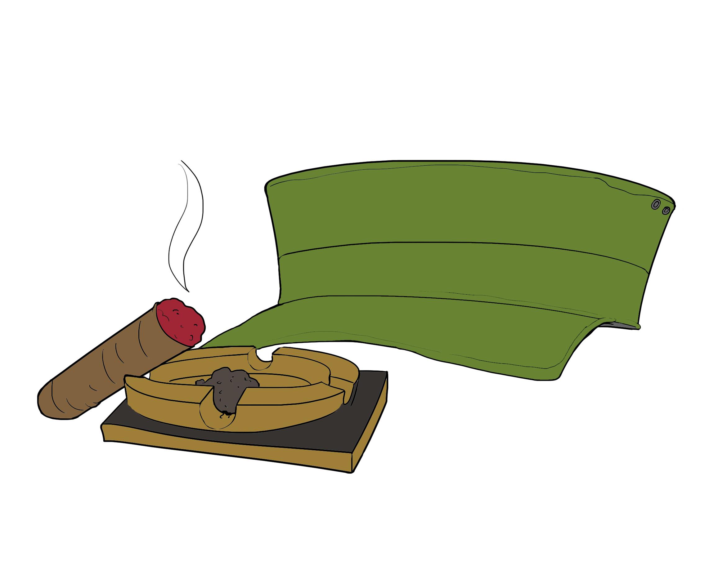 Adiós, Fidel. Illustration: Gustavo Reyes