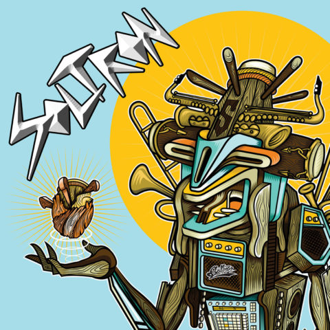 Portada del CD homónimo y debut de Soltrón, via Round Whirled Records.