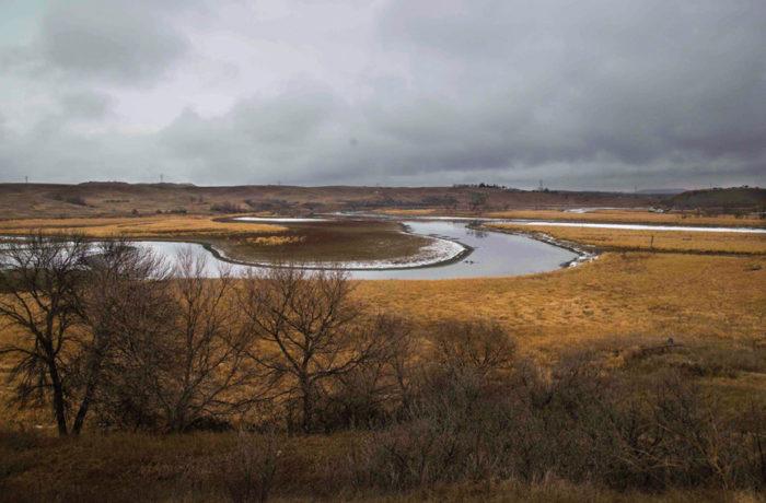 The Cannonball River on Nov. 24. Photo: Natasha Dangond