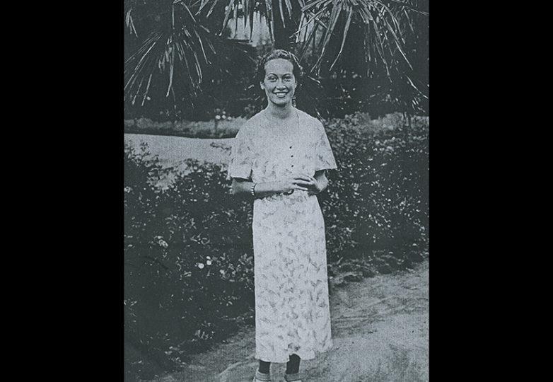 The author's mother, Elba Parra Guzmán, in Chile, circa 1941. Courtesy: Carlos Barón