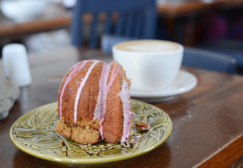 Cafe St. Jorge, a Portuguese-inspired cafe and bakery located off of Mission Street in San Francisco's Outer Mission neighborhood, March 3. Photo: Desiree Rios