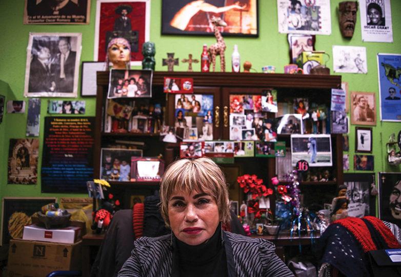 Maria Cristina Gutierrez. Photo: Joel Angel Juárez