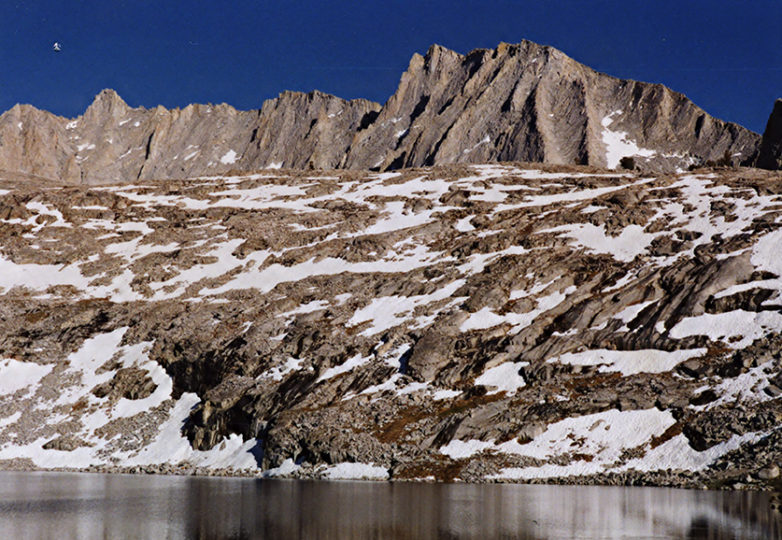 Sphinx Lakes in Kings Canyon National Park, 2002, one of the author's work destinations. Photo: Mabel Jiménez