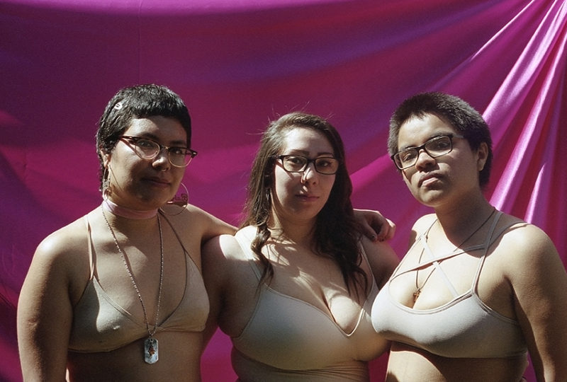 Hijxs del Sol, Nancy Diaz, Jazmin Villalobos y Lupita. Foto: Ivette Diaz