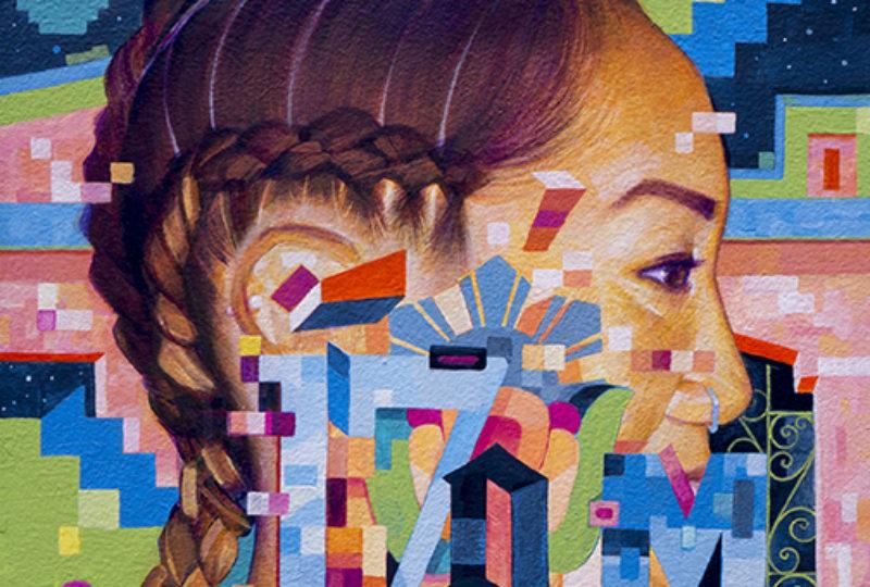 """Imagen para la serie """"Caras de la Misión"""". Oleo sobre lienzo, Samuel Rodriguez"""