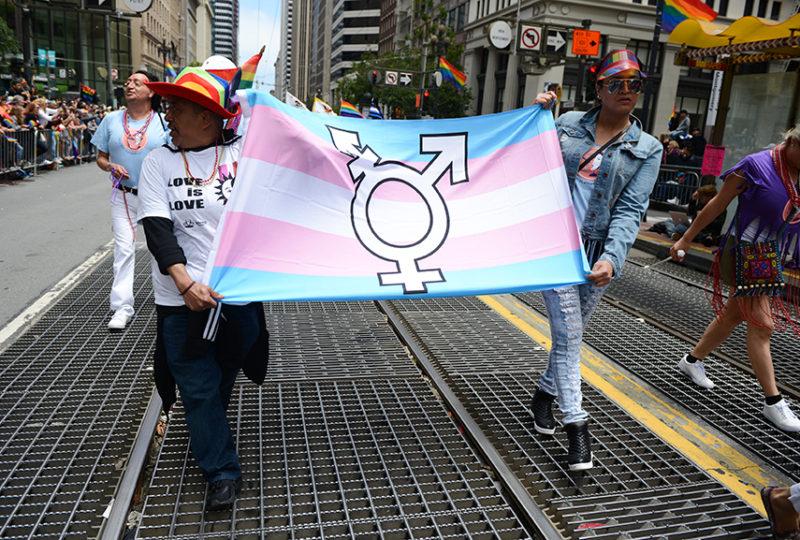 El/La Para Trans Latinas at the San Francisco Pride parade, Sunday, June 25. Photo: Desiree Rios
