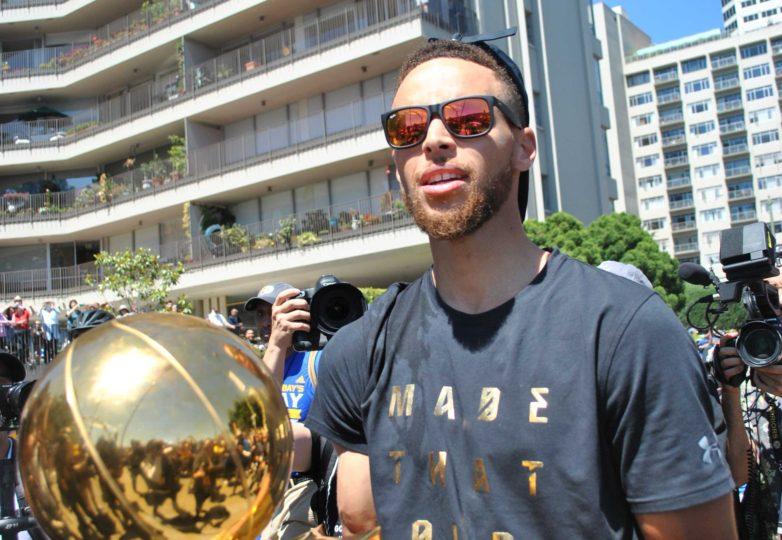 Stephen Curry. Photo: Alejandro Galicia Diaz