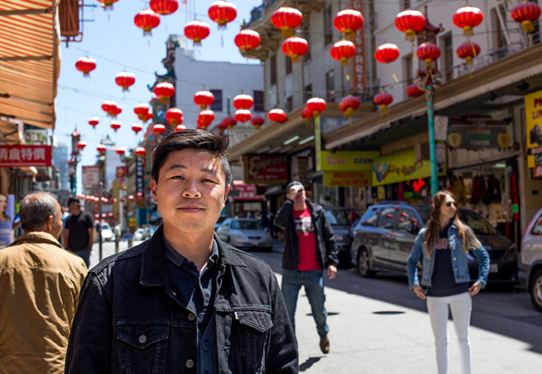 Wei Lee, ASPIRE program coordinator for the Asian Americans Advancing Justice, and Asian Law Caucus, in San Francisco, July 10, 2017. Photo: Jessica Webb