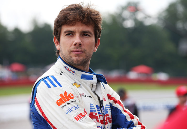 Colombian IndyCar racer Carlos Muñoz will race on Sunday at 3:30 p.m. at the GoPro Grand Prix of Sonoma (85 laps). Courtesy: INDYCAR Photo