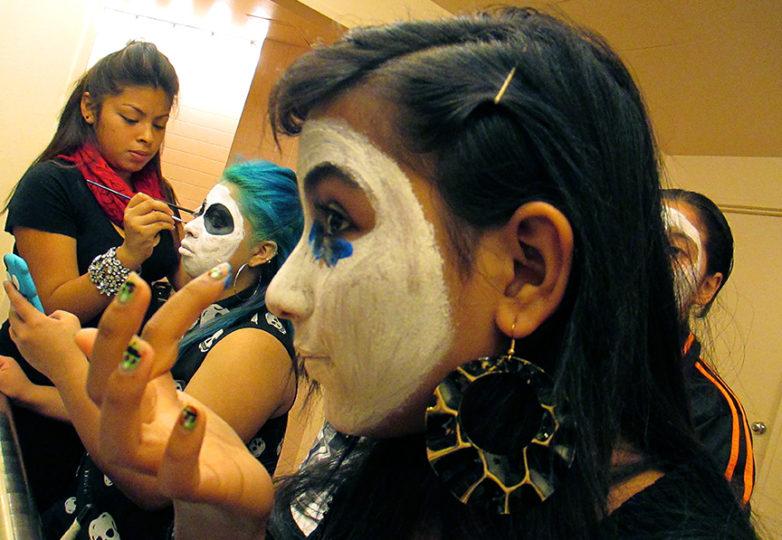 Susana Robles Desgarennes, left, was described by her youth mentors as an incredible artist. Courtesy Jose Carrasco