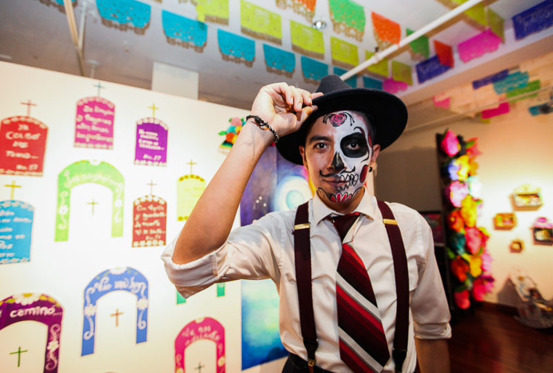Arturo Moh Mendez poses for a portrait at Mission Cultural Center for Latino Arts, Thursday, Nov. 2, 2017. Photo: Ekevara Kitpowsong