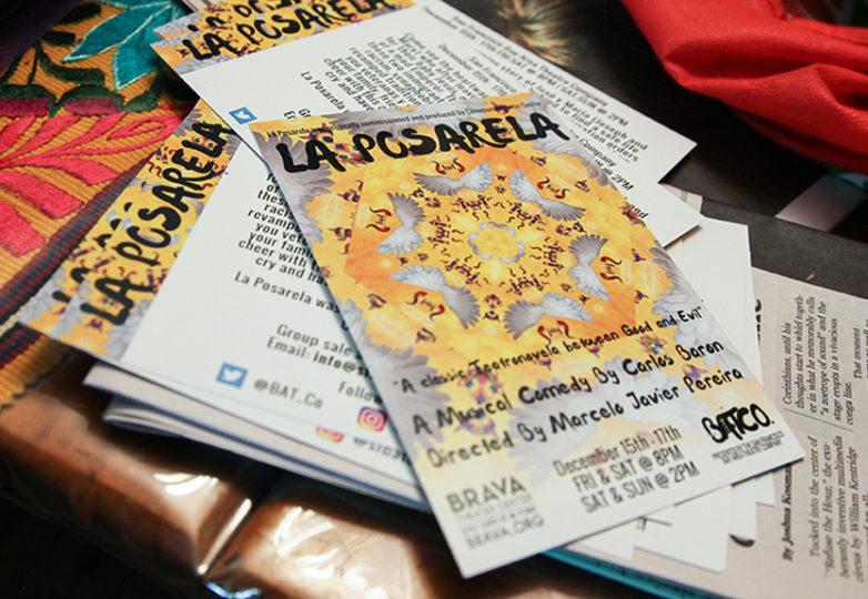 "The flyer for this year's show for ""La Posarela."" Photo: Adelyna Tirado"