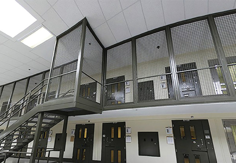 Solitary confinement cells at the Adelanto Immigration Detention Facility. Courtesy: ICE.gov