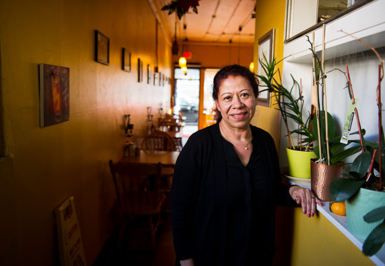 Alba Guerra, owner of Sunrise Restaurant in San Francisco's Mission District, on Feb. 16, 2018. Photo: Beth LaBerge