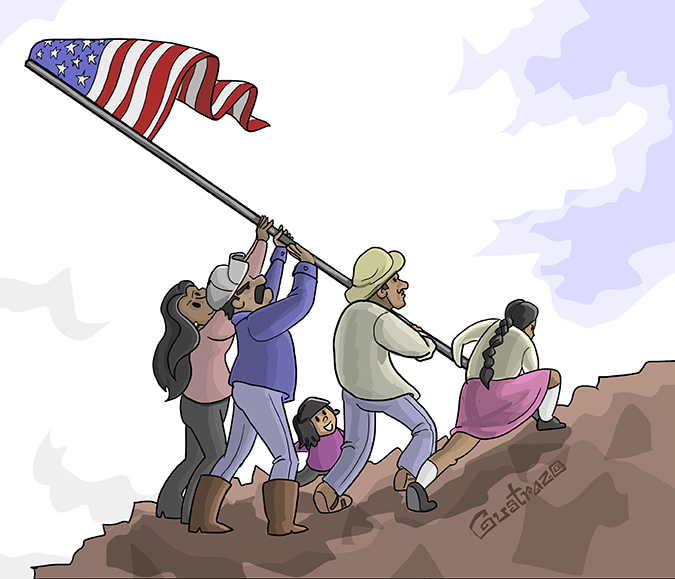 As Immigrants Our Greatest Dream Is The American Dream El
