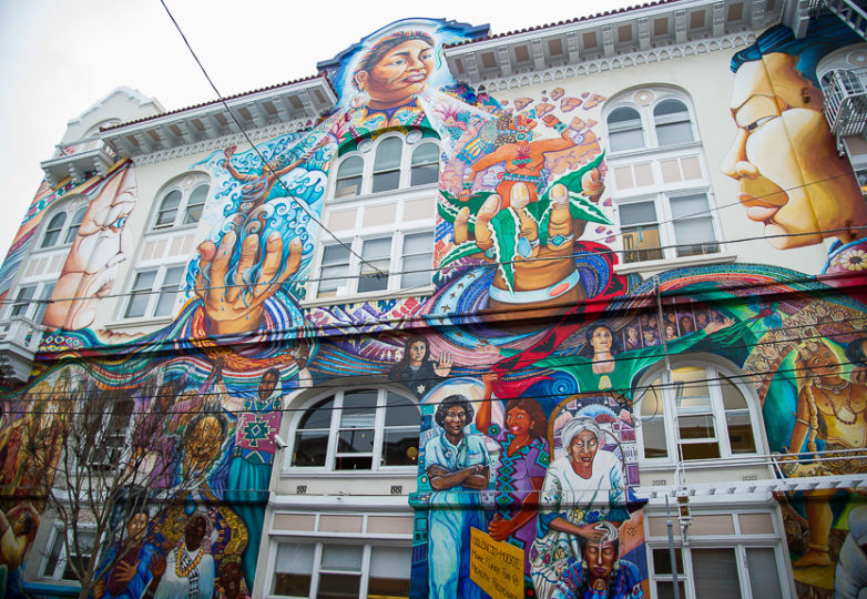 The Women's Building located in San Francisco's Mission District. Photo: Beth LaBerge