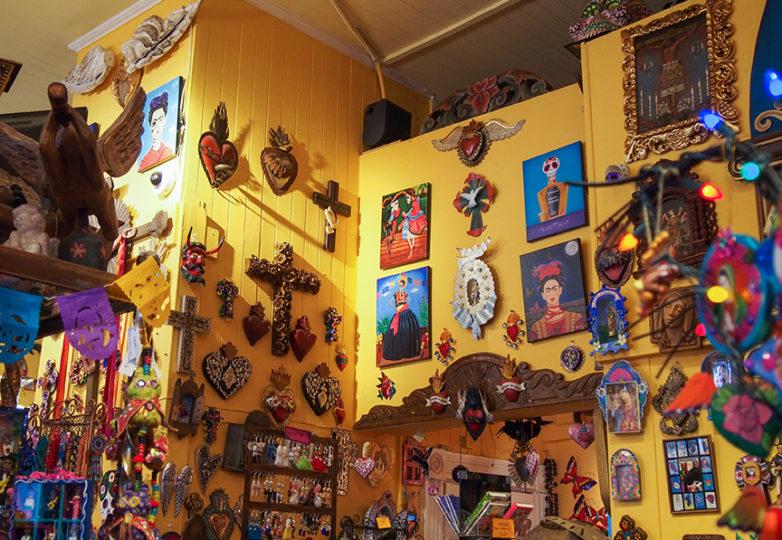 Fachada de la tienda Luz de Luna, en la Calle 24. Foto: Emmely Benitez