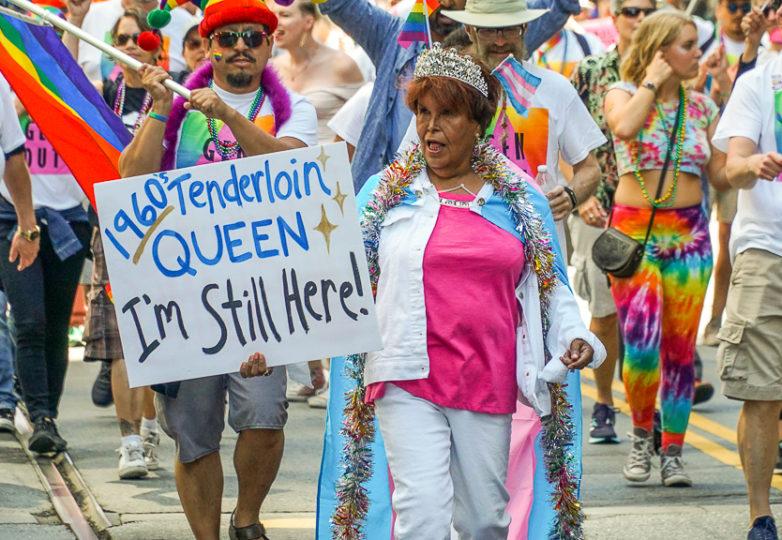 Participantes del Desfile del Orgullo en San Francisco, el 24 de junio de 2018. Foto: Drago Rentería