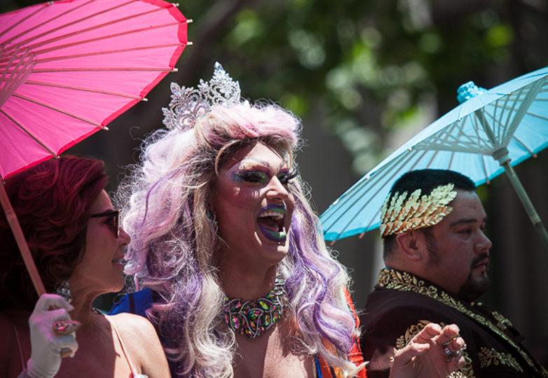 Participantes del Desfile del Orgullo en San Francisco, el 24 de junio de 2018. Foto: Ekevara Kitpowsong