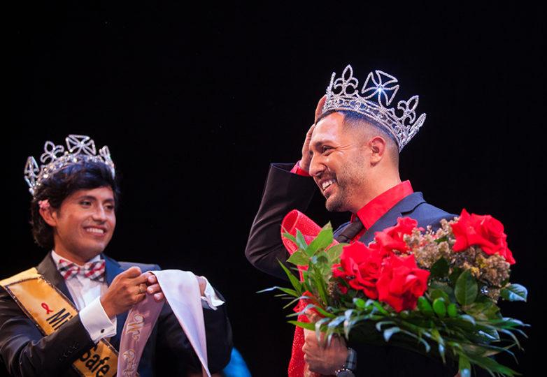José Gordillo obtuvo la corona de Mr Safe Latino 2018, un evento realizado en el Marines' Memorial Theatre en San Francisco. Foto: Ekevara Kitpowsong